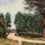 The Path from Saint Mammes, Morning – Alfred Sisley