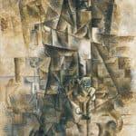 The Piano Accordionist – Pablo Picasso