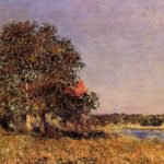 The Plain of Thomery and the Village of Champagne – Alfred Sisley