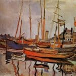 The Port of Le Havre   – Raoul Dufy