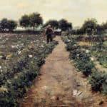 The Potato Patch, aka Garden Shinnecock – William Merritt Chase