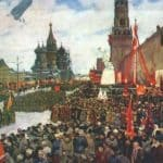The Red Army Parade - Konstantin Yuon