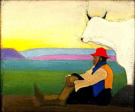 The Red Hat - Joseph Stella