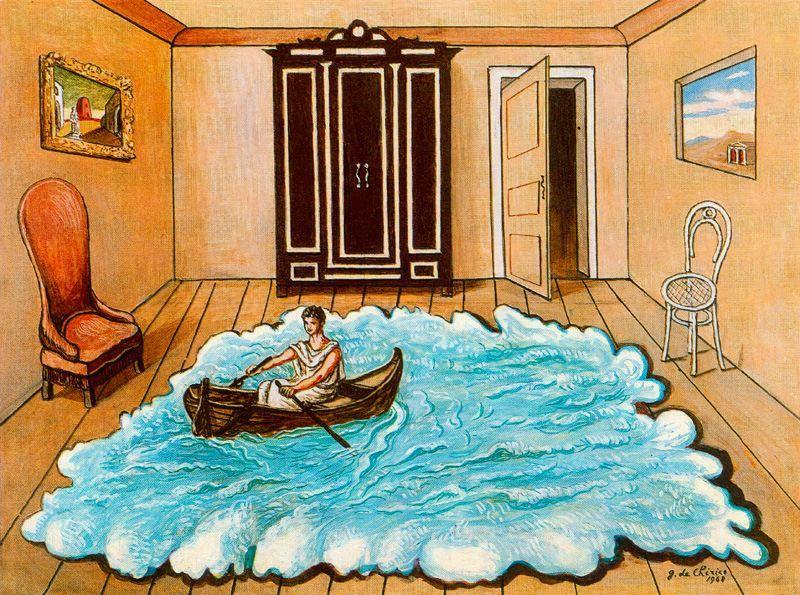 The Return of Ulysses - Giorgio de Chirico