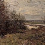 The Roches Courtaut Wood, near By – Alfred Sisley