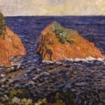 The Rock in the Sea – Louis Valtat