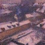 The Roofs of Paris in Snow – Henri Martin