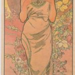 The rose – Alphonse Mucha