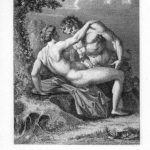 The Satyr and Nymph – Agostino Carracci