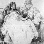 The seamstress Sun – Berthe Morisot