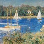 The Seine at Argenteuil – Claude Monet