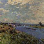 The Seine at Saint Cloud – Alfred Sisley