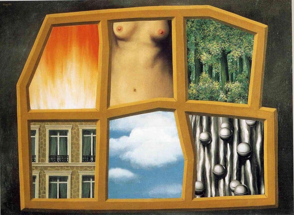 The Six Elements - Rene Magritte