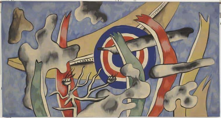 The Skies Of France - Fernand Leger