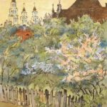 Spring in Kaunas – Mstislav Dobuzhinsky