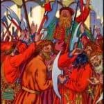 The Streltsy Uprising – Ivan Bilibin
