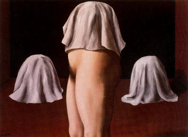 The Symmetrical Trick - Rene Magritte