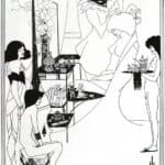 The Toilette of Salome – Aubrey Beardsley