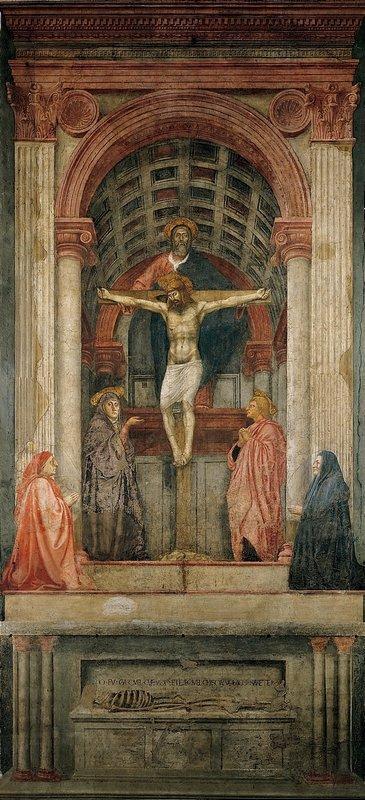 Masaccio The Trinity