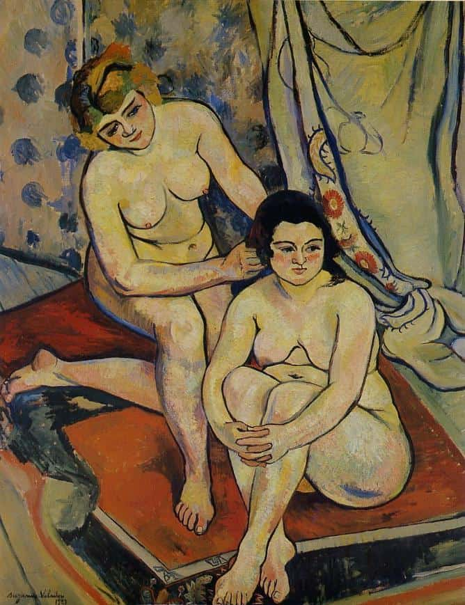 The Two Bathers - Suzanne Valadon