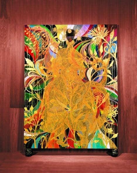The Upper Room: Mono Oro - Chris Ofili