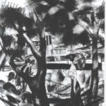 The way on the water – August Macke