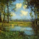 The Woodland Pool – Robert Julian Onderdonk