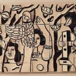 The worker sitting – Fernand Leger