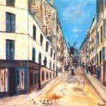 Tholoze street – Maurice Utrillo