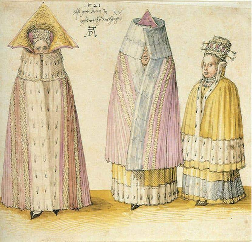 Three Mighty Ladies From Livonia - Albrecht Durer