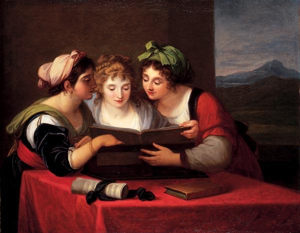 Three Singers - Angelica Kauffman