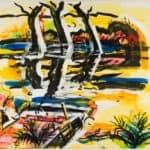 Three Trees, Georgia – Ivan Albright