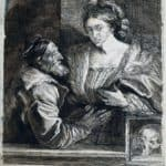 Titian`s Self Portrait with a Young – Anthony van Dyck