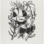 Title given the bird in the flowers, study for the Circus  – Fernand Leger