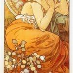 Topaz – Alphonse Mucha