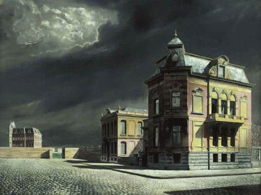 Townscape - Carel Willink