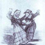 Two Dancing Old Friends – Francisco Goya