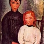 Two girls – Amedeo Modigliani