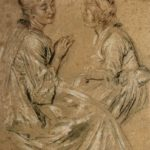 Two Seated Women – Antoine Watteau