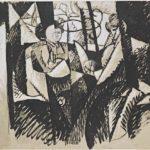 Two Women Seated by a Window – Albert Gleizes