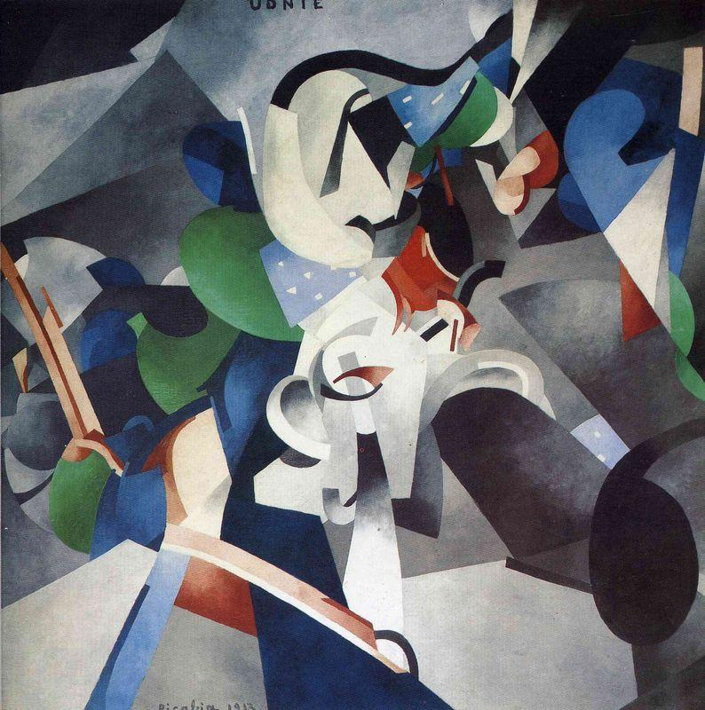 Udnie, Young American Girl - Francis Picabia