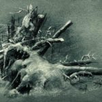 Uprooted stumps under the snow – Ivan Shishkin