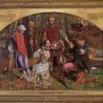 Valentine Rescuing Silvia from Proteus – William Holman Hunt
