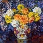 Vase of Flowers – Theo van Rysselberghe