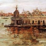 Venice – View of the Navy Arsenal – William Merritt Chase