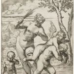 Venus Punishing Profane Love – Agostino Carracci