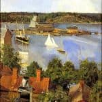 View from North Quay – Akseli Gallen-Kallela