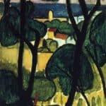 View of Collioure – Henri Martin