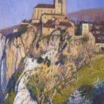 View of Saint Cirq Lapopie – Henri Martin