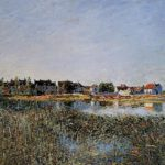View of Saint Mammes – Alfred Sisley